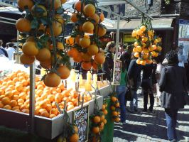 camden town oranges by indigodesurtigues