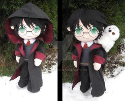Harry Potter plush by aSourLemon