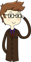 The tenth Doctor by Yuuchou