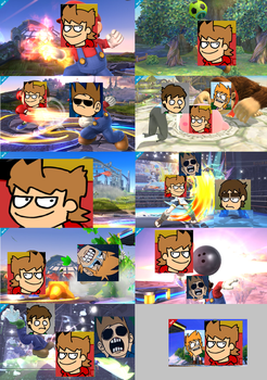 Tord for SSB4 by Totaldramaman