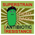 The bacterial resistance - Poster by boroncete
