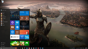 My Windows 10 Desktop 2015 by Dave2399