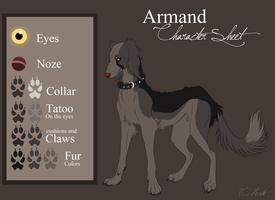 Armand Character sheet by hecatehell