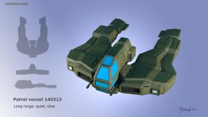 Patrol vessel concept 20140319 by dm3da