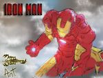 Iron Man digital Sketch/Painting by ReAligned