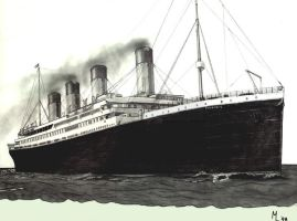The Titanic by Sam-wyat