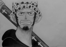 Trafalgar Law by Louveone