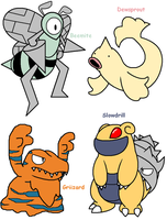 PokeFusions by DeathToSquishies