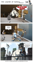 The Legend of Korra Abriged Chapter 1 - page 38 by yourparodies