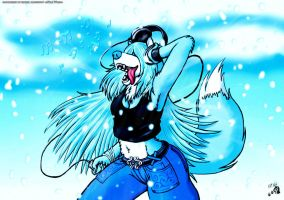 Winter XD by White-Wolf-Redgrave