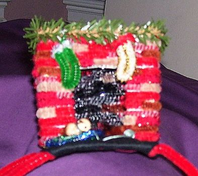 Holiday Fireplace tiara by pipecleaner-princess