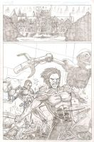 Ultimate X-Men Page by artistjoshmills