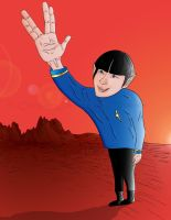Live Long and Prosper - Colour by kingjules71