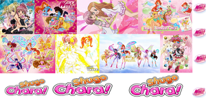Shugo Chara plus Winx Club by xXLolipopGurlXx