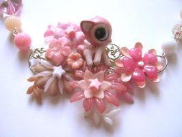 Gooey Cute PinkBambi Necklace by DinaFragola