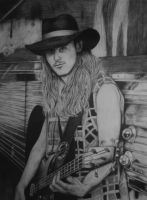 Cliff Burton by Sigarth