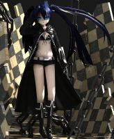 3D Black Rock Shooter by XenoAisam