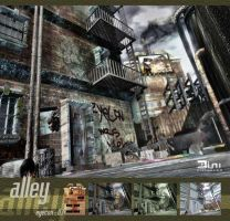 Alley by frenic