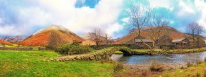 Pack Horse Bridge Wasdale Head  by Capturing-the-Light
