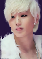 Jongup phone drawing by SMoran