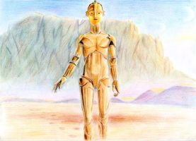 C3PO concept by Daniela-Chris