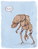 Creature Comic 77 by bensigas
