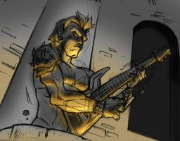 the Guitarist by altifirmansyah