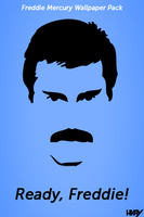 Freddie Mercury Wallpaper Pack by hmaxkay
