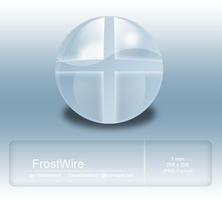 FrostWire Dock Icon by Victomized