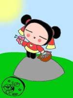 Pucca's cuteness by FlopyLopez