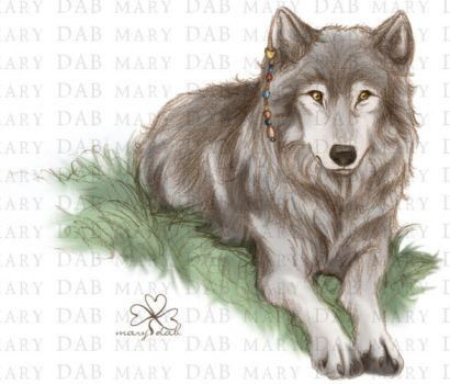 Sister Wolf by mary-dab