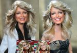 Farrah Fawcett Charlie's Angels doll art repaint by noeling
