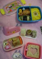 New bentos for my friends by xxxKei87xxx
