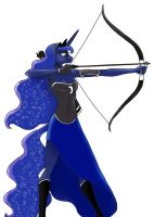 Clone of goddess of Luna Anthro Archer by DerpyHooves113