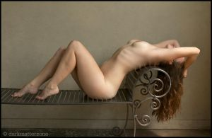 Reclining Nude by darkmatterzone