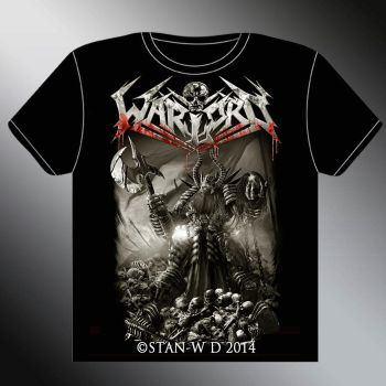 WARLORD (uk) - T-Shirt Model by stan-w-d