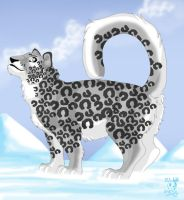Snow Leopard - for Sesshomaru by DodgerMD