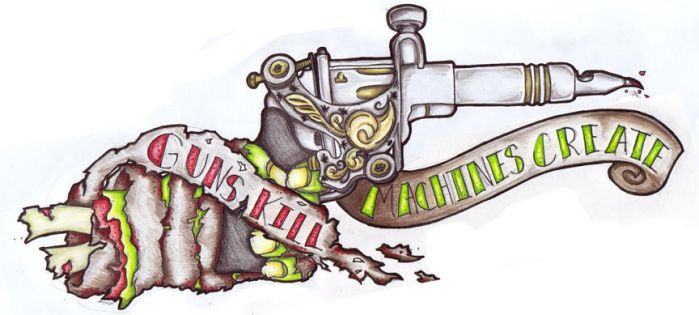 Guns Kill Machines Create by filly4585