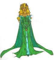 The Lady of the Green Kirtle by charligal