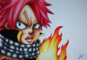 Natsu Dragneel from Fairy Tail by TinTen97
