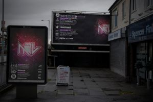 Music to Live Festival Poster and Billboard by Zeezal