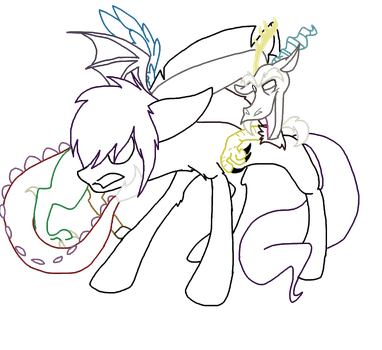 discord drawing lines by MineFreakXx