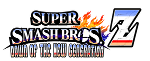 Super Smash Bros Z Dawn of the New Generation Logo by KingAsylus91