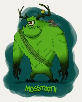 Moss Tooth by guilhermegsantos
