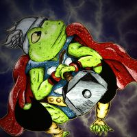 Thor, Frog of Thunder by RoccoBertucci