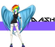 +Rainbow Dash+ by Tao-mell