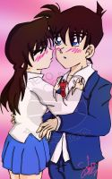 DC: Shinichi and Ran by Catstraw