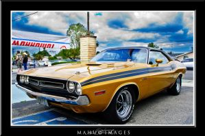 71 Dodge Challenger by mahu54