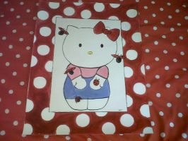 Hello Kitty poster by Kelly-ART