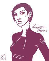 1 Colour 5 -Kassiopeia Shepard by N3-496